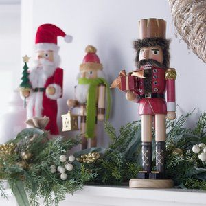 Set of 3 Holiday Nutcrackers